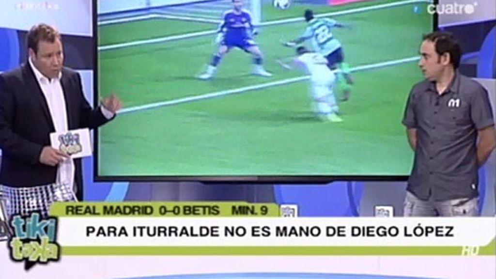 No hay penalti de Carvajal a Cedrick