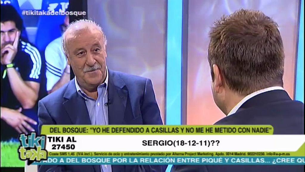 """Del Bosque: """"El que dice que soy antimadridista no tiene ni idea"""""""
