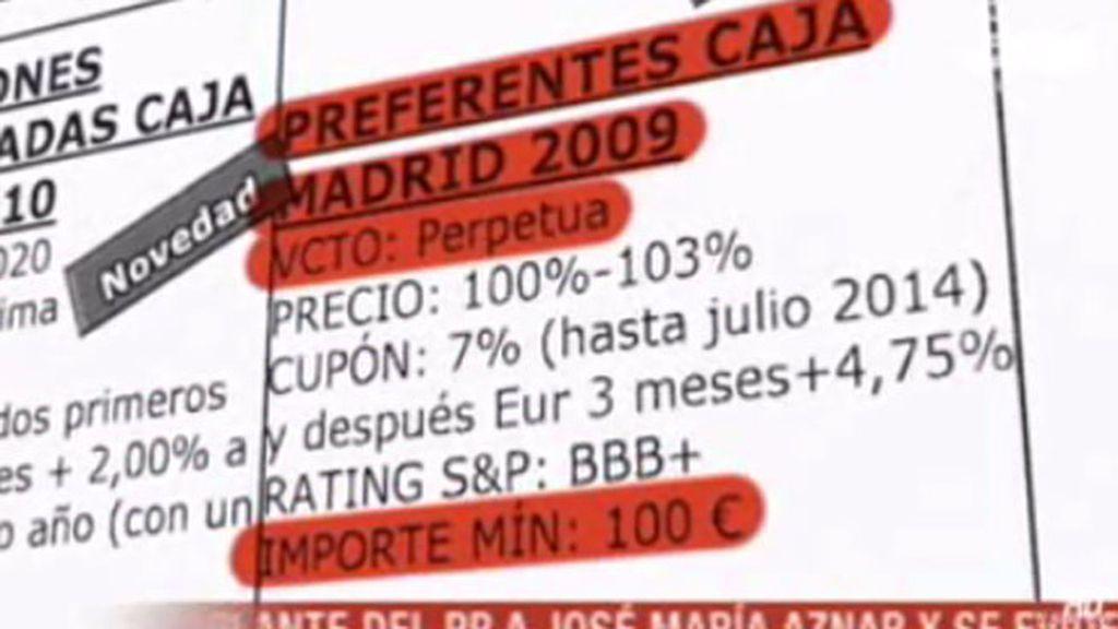 """Trabajador de Bankia: """"Cuando he vendido preferentes sabía perfectamente como eran"""""""
