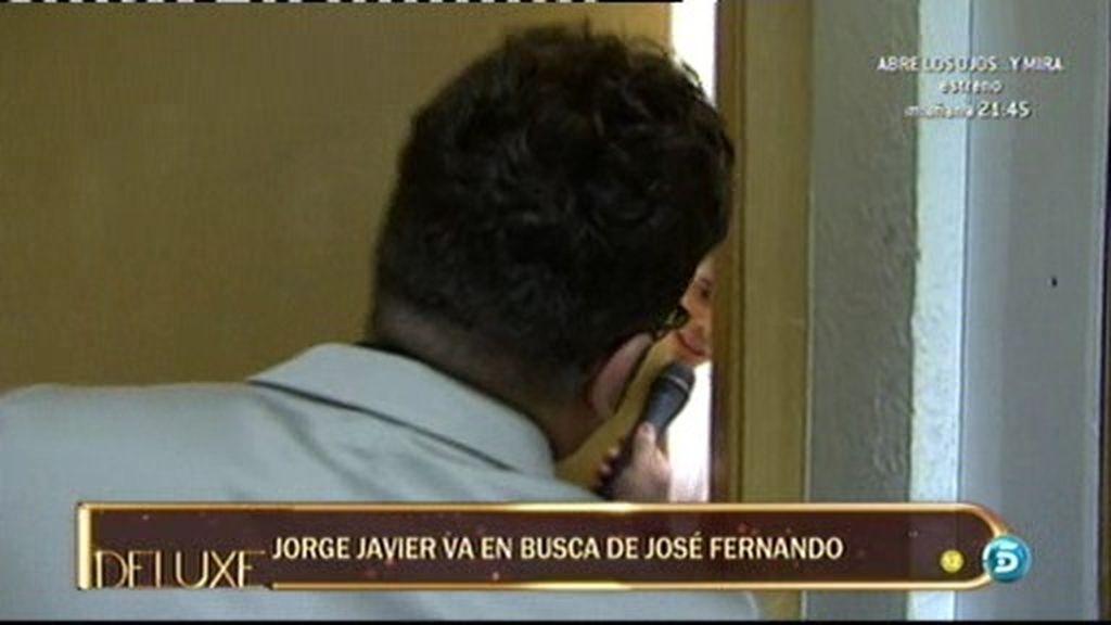 José Fernando no quiere hablar con Jorge J.