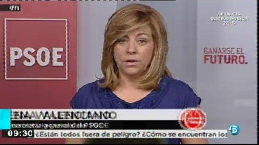 El PSOE pide que Rajoy comparezca en el Congreso