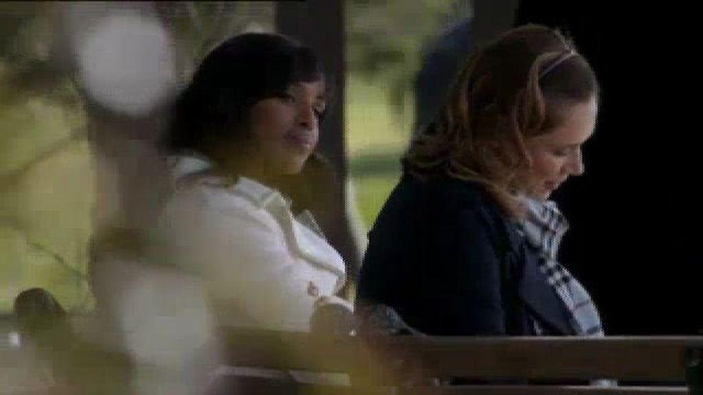 Olivia acude a hablar con la supuesta amante del presidente