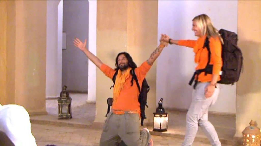 Rafael y Amargo y Yolanda ganan la prueba