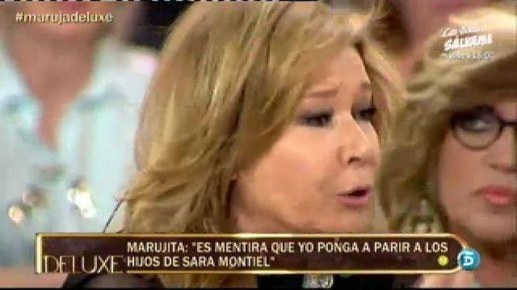 Mila asegura que en quince años no han visto a Marujita Díaz en casa de Sara Montiel