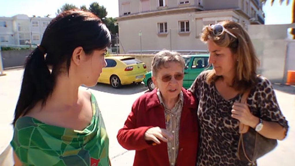 La directora de su colegio ha sido un gran apoyo para Arantxa