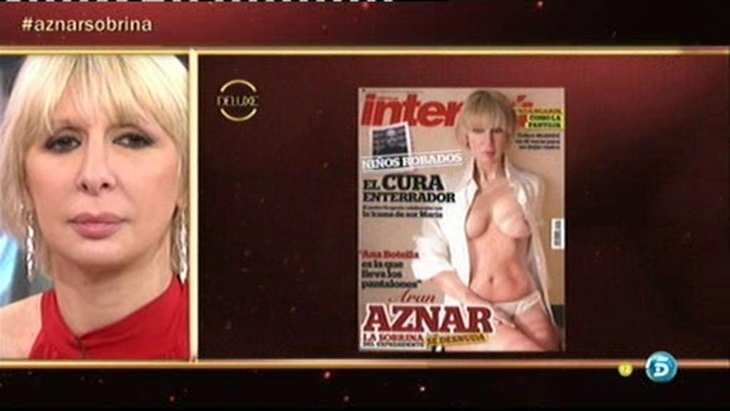 El polémico desnudo de la sobrina de Aznar