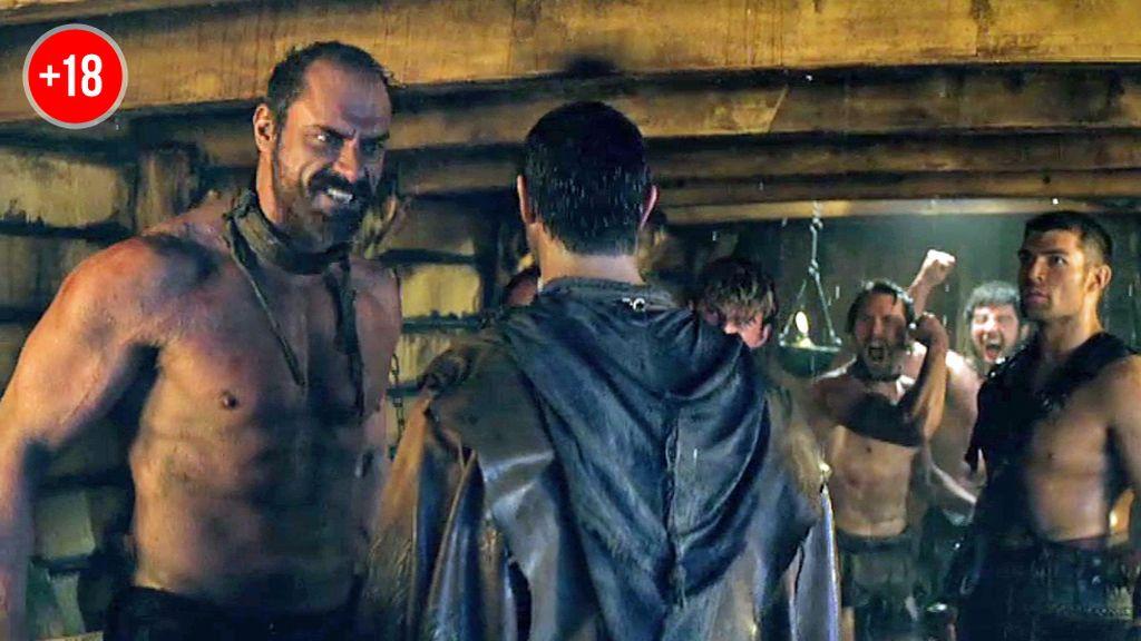 Los esclavos germanos se unen a Espartaco