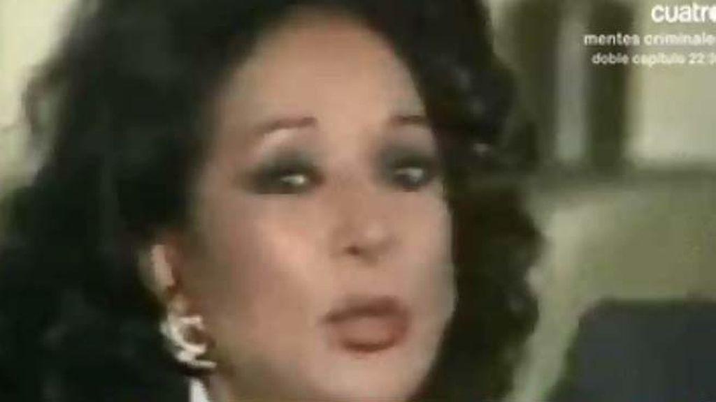 Lola Flores se sentó en el banquillo en 1.989 por evasión fiscal