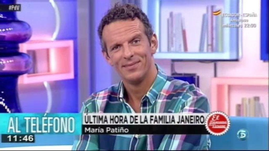 """Maria Patiño: """"El 24 de Agosto será la comunión de Julia en Ambiciones"""""""