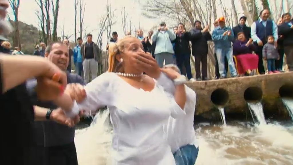 """Luisa: """"El bautismo es como mi boda"""""""