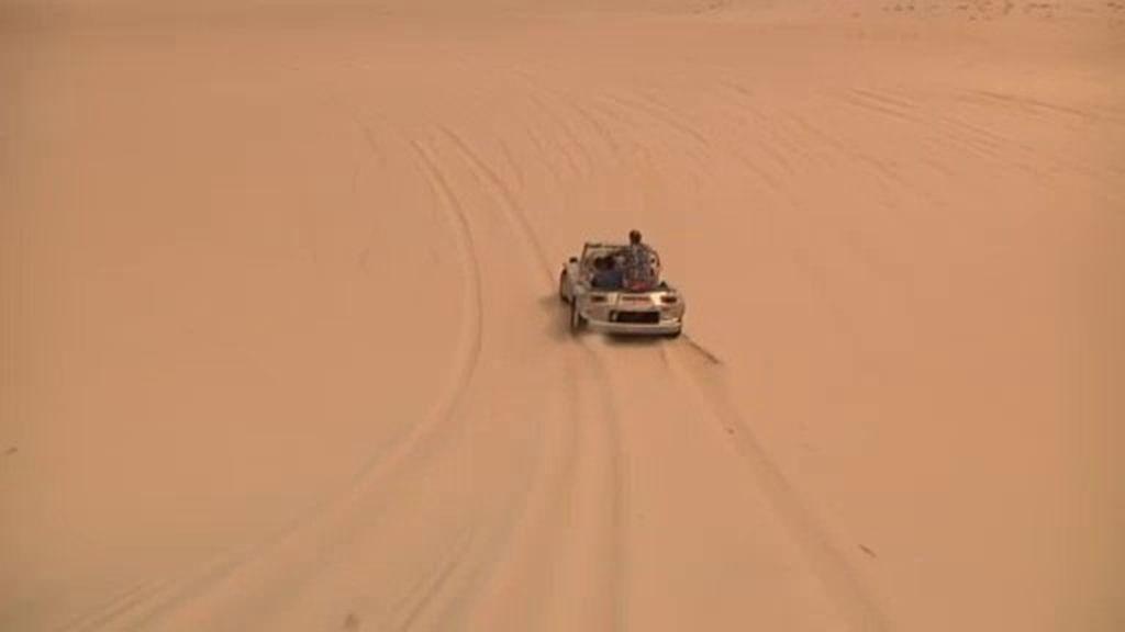Adrenalina pura en las dunas de Natal
