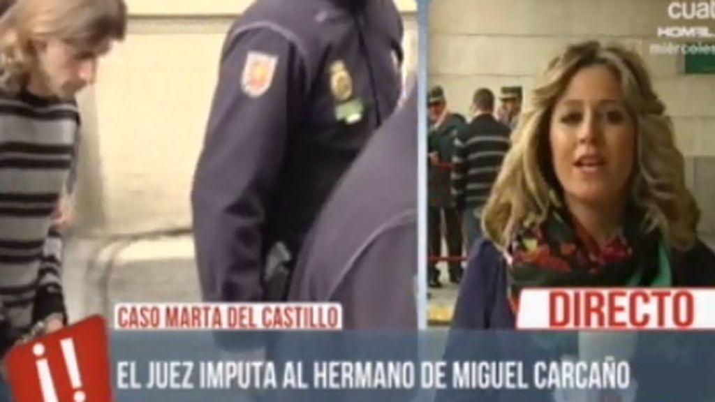 El juez imputa al hermano de Miguel Carcaño