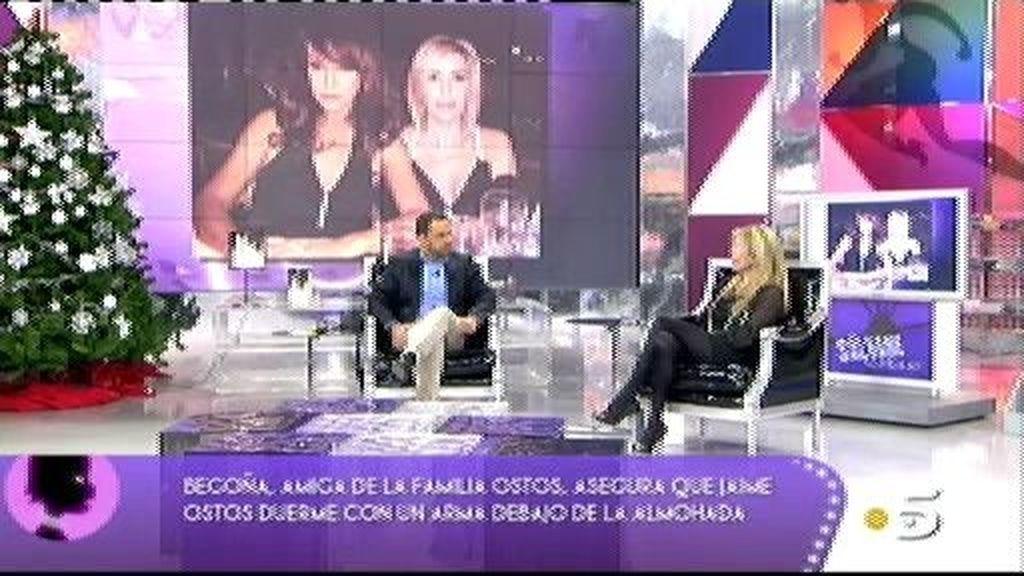 El trato de Mª Ángeles Grajal con Jaime Ostos