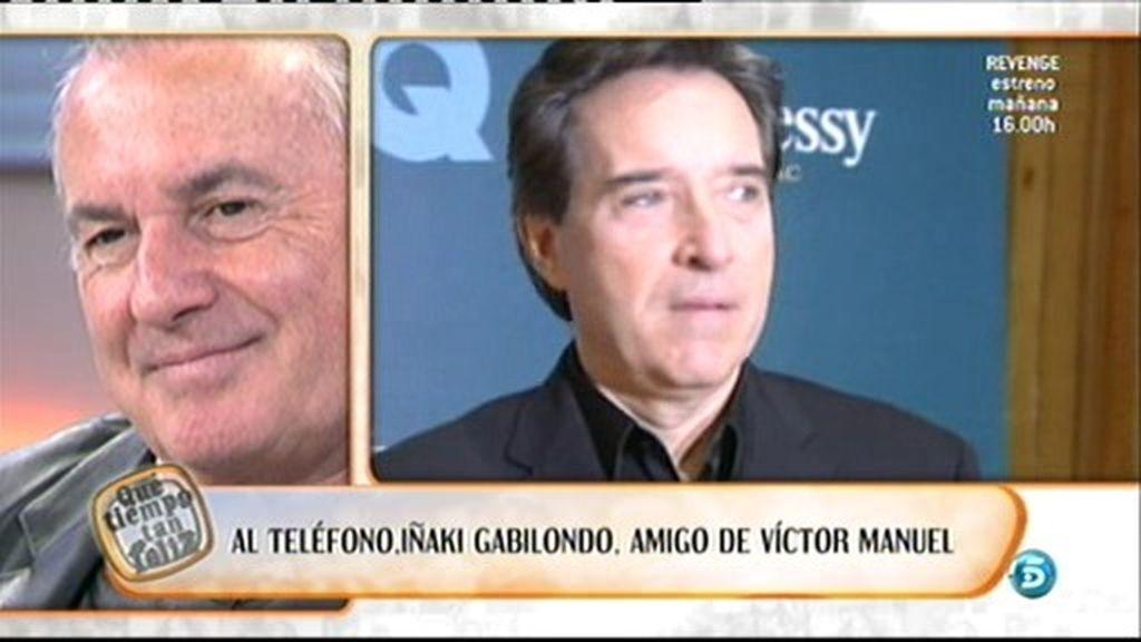 Gabilondo habla de Víctor Manuel