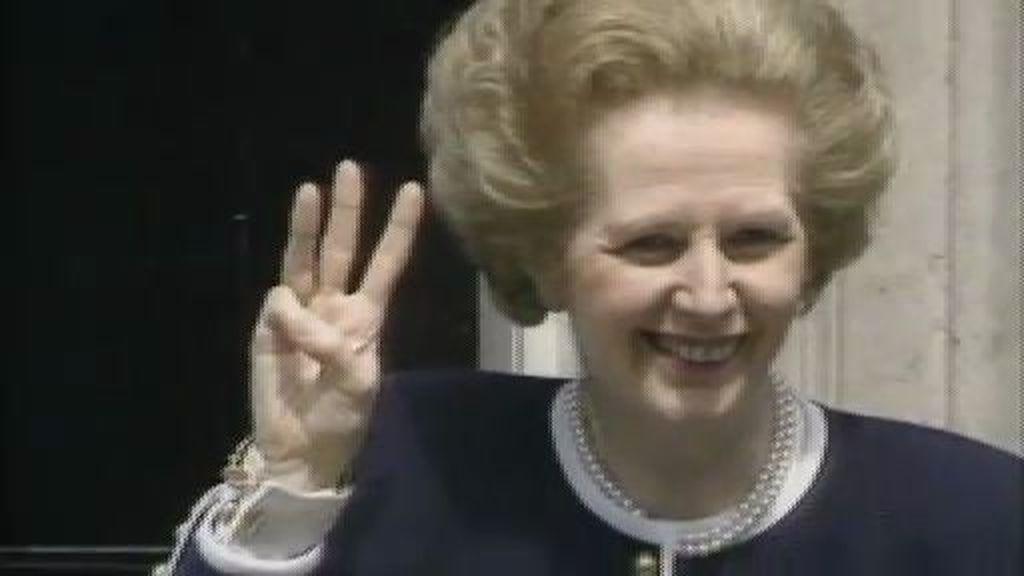 Margaret Thatcher regresa al parlamento en la piel de Meryl Streep