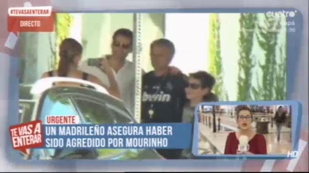 Un madrileño denuncia a Mourinho por agresión