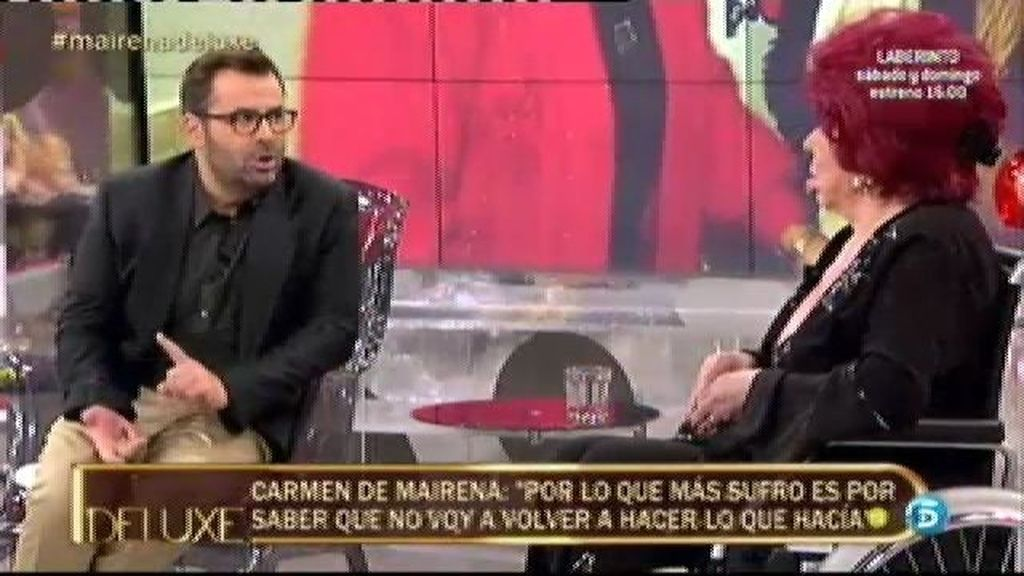 "Carmen de Mairena: ""Estuve a punto de quitarme la vida por amor"""