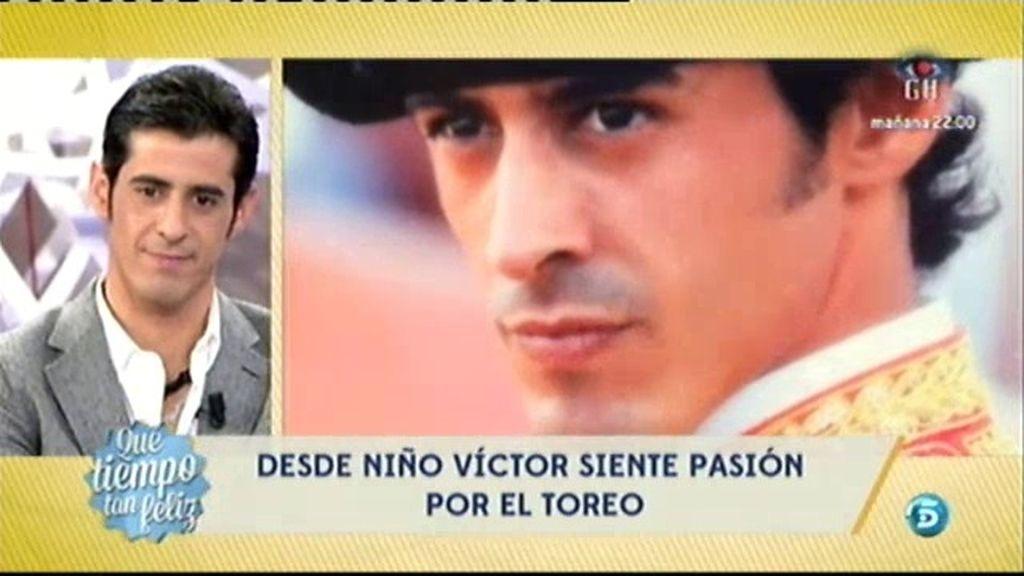 Víctor Janeiro, un apasionado de los toros