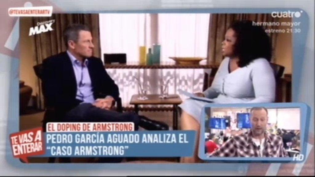 El 'hermano mayor' Pedro García Aguado opina sobre las palabras de Armstrong