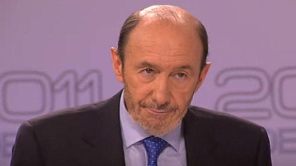 """Rubalcaba acusa a Rajoy de """"sembrar incertidumbre"""""""