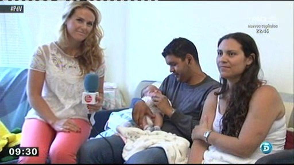 La familia 'Milagro' sobrevivió al accidente de Santiago