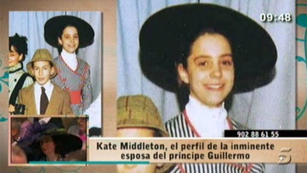 Así era Kate Middleton