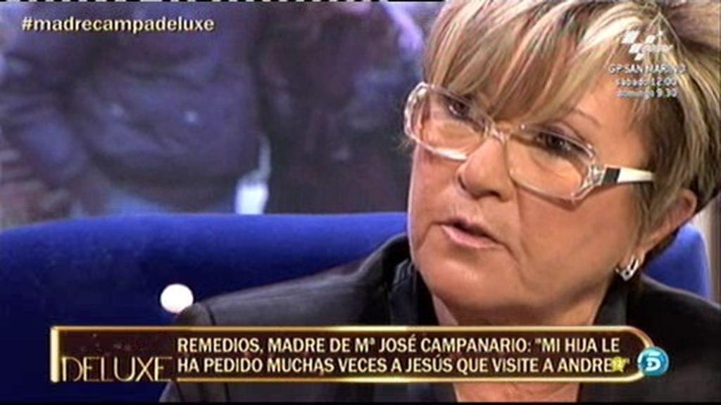 """Remedios Torres: """"Mi hija jamás ha impedido que Jesulín se relacione con su hija mayor"""""""