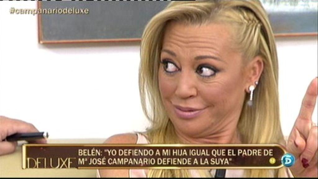 """Belén Esteban: """"De mí, puede hablar su hija"""""""