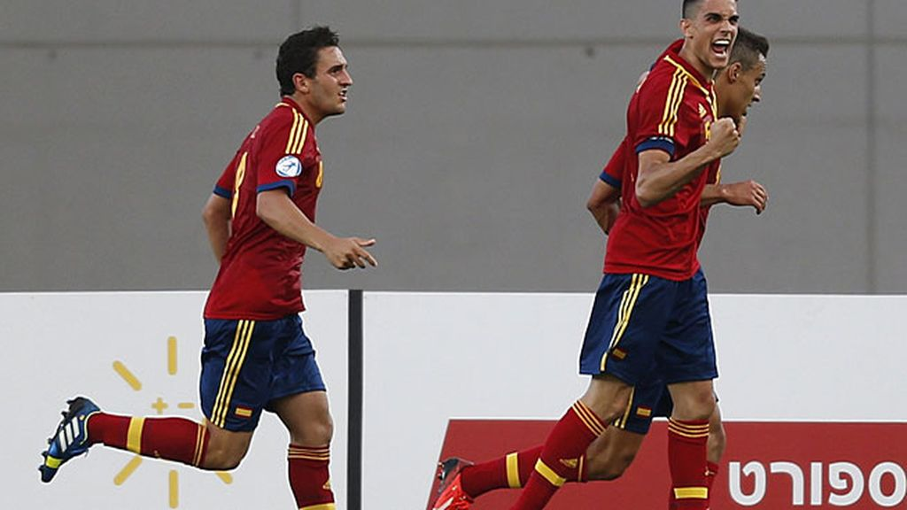 Gol: España 1-0 Noruega (min.46)