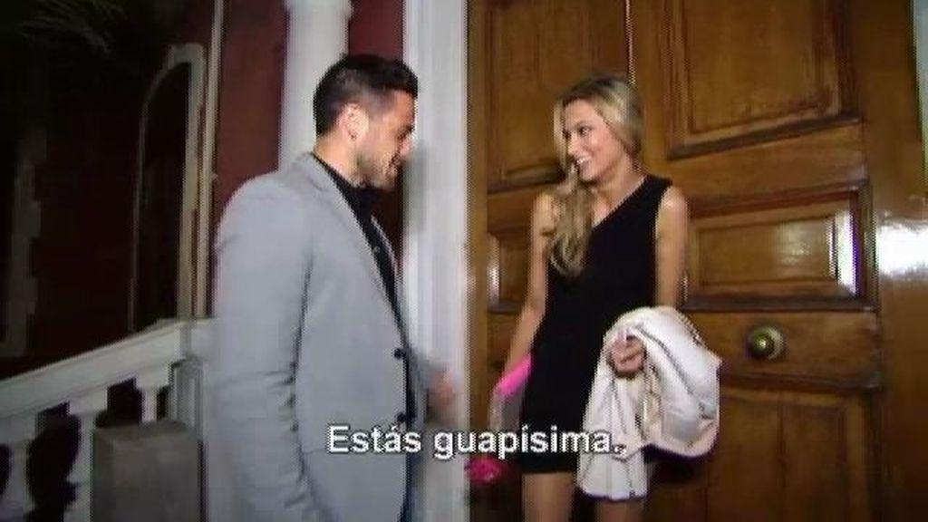 La romántica cena de Pascual y Corina