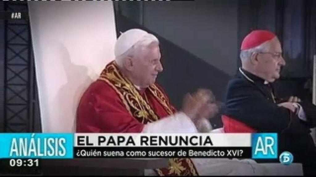 Benedicto XVI ha visitado 3 veces España