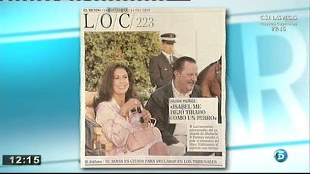 """Julián Muñoz: """"Isabel y yo hacíamos el amor muy bien y muy a menudo"""""""