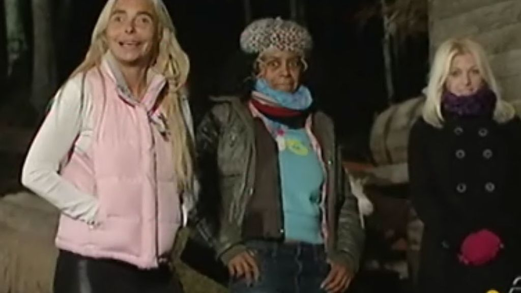Leticia, Regina y Sonia ya están en el bosque