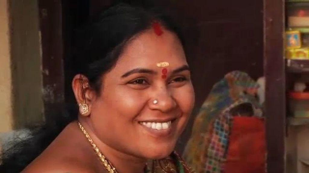 El bindi de la mujer india
