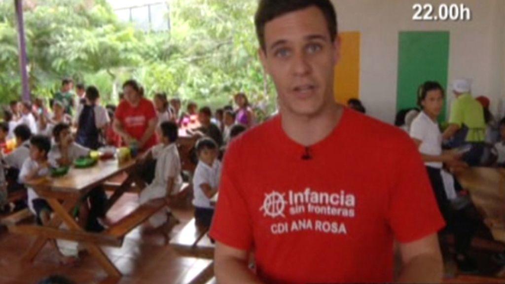 Christian Gálvez, solidario