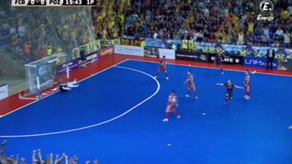 Gol de Wilde (Barça 1-0 ElPozo)