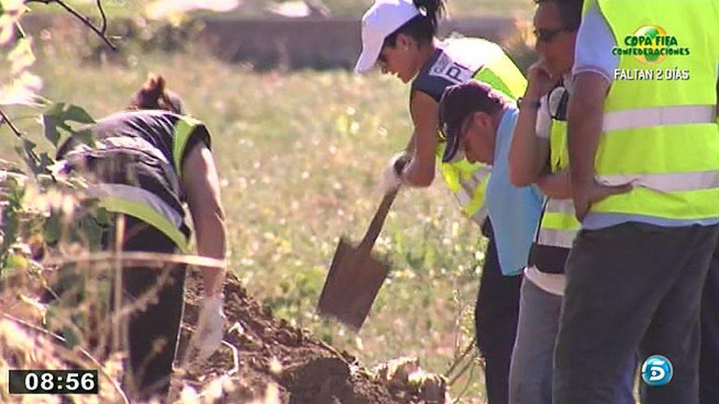 Antonio del Castillo participó en la búsqueda del cuerpo de Marta