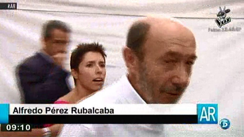 Alfredo Pérez Rubalcaba responde a Marta Nebot