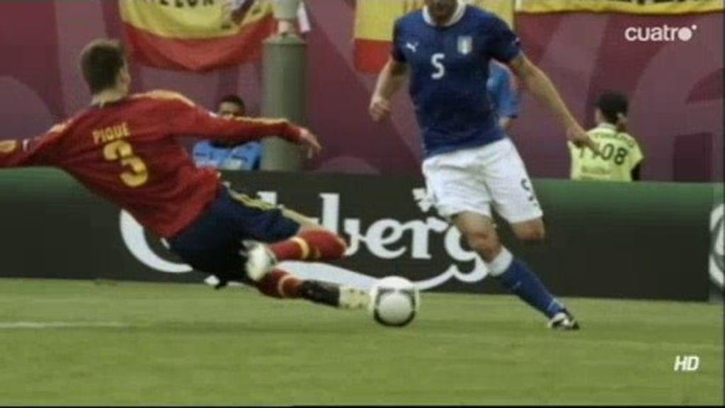 El 'muro' de España contra Italia