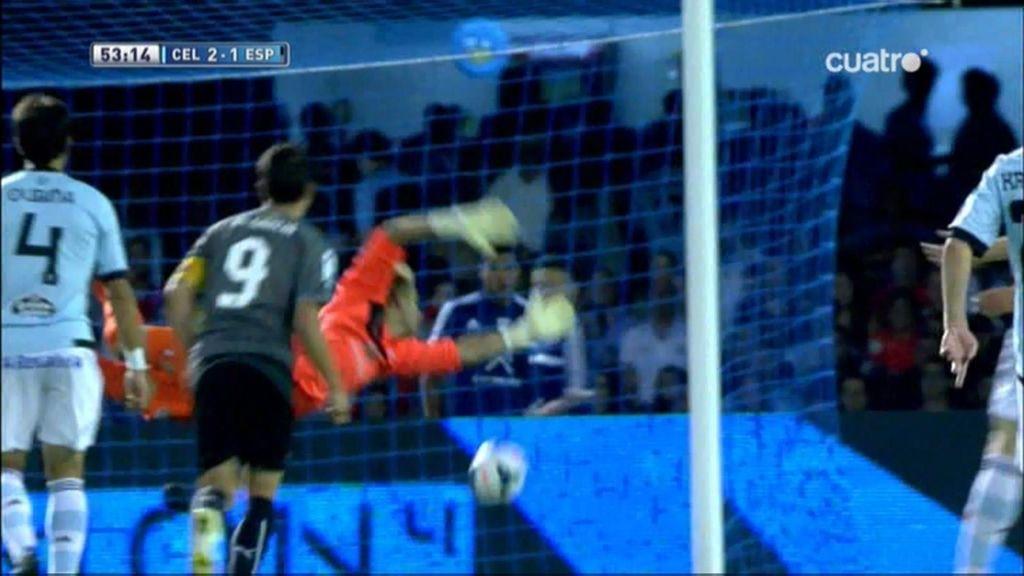 Gol de Víctor Sánchez (Celta 2 – 1 Espanyol)