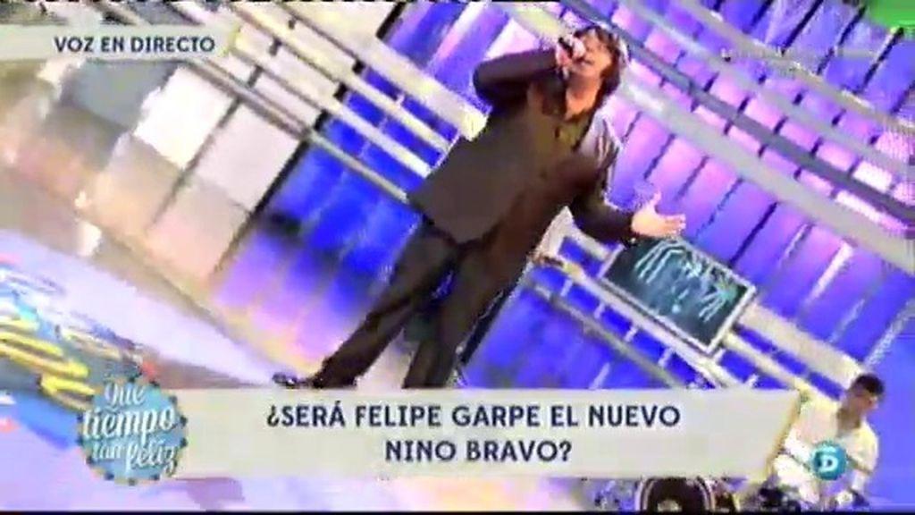 Felipe Garpe, tercer aspirante a Nino Bravo
