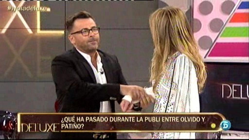 """Jorge Javier echa a Olvido Hormigos al grito de """"¡Qué asco!"""" por un incidente con Patiño"""