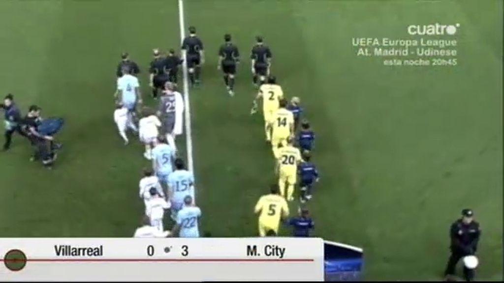 Villarreal 0 - 3 M. City