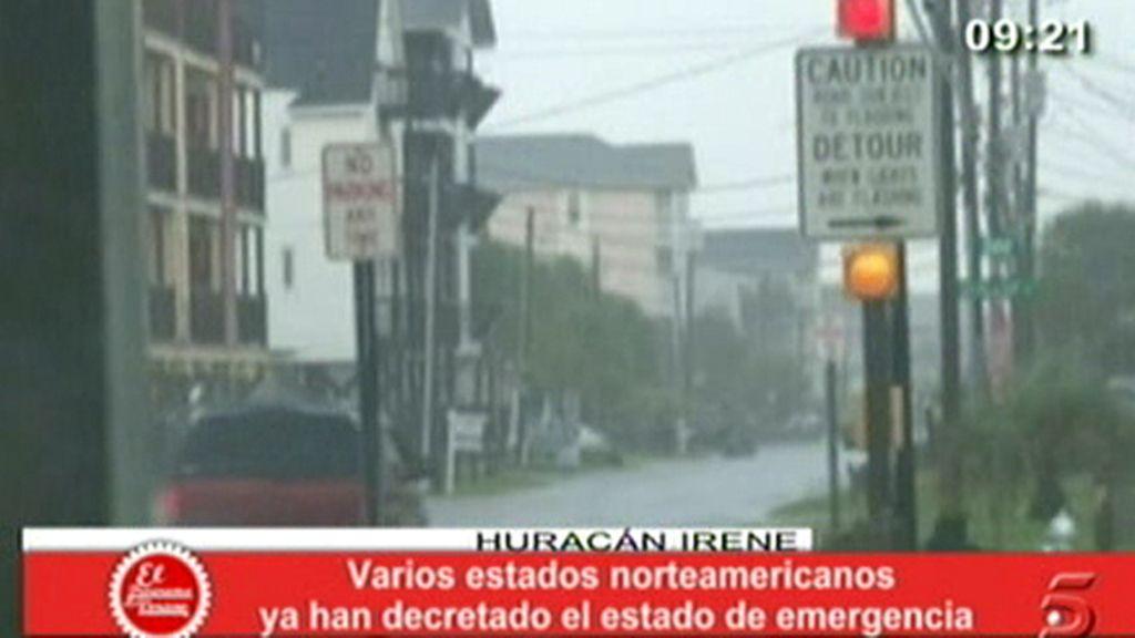 "El huracán ""Irene"", imparable"