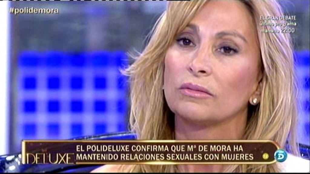 María de Mora ha mantenido relaciones sexuales con algún colaborador de Sálvame