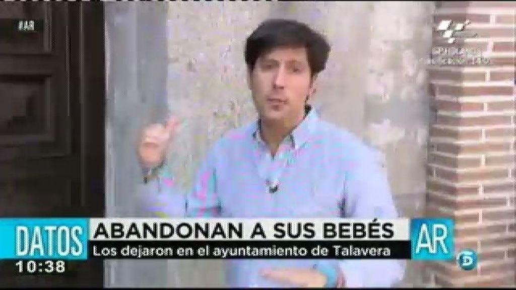 Dos padres abandonan a sus hijos en el Ayuntamiento de Talavera