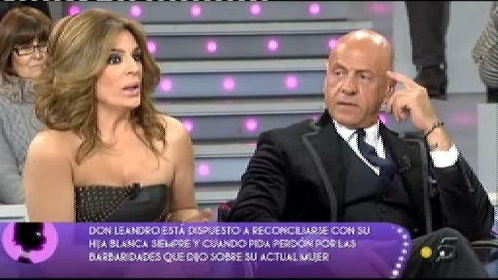Leandro opina sobre el paso de Blanca por 'Acorralados'
