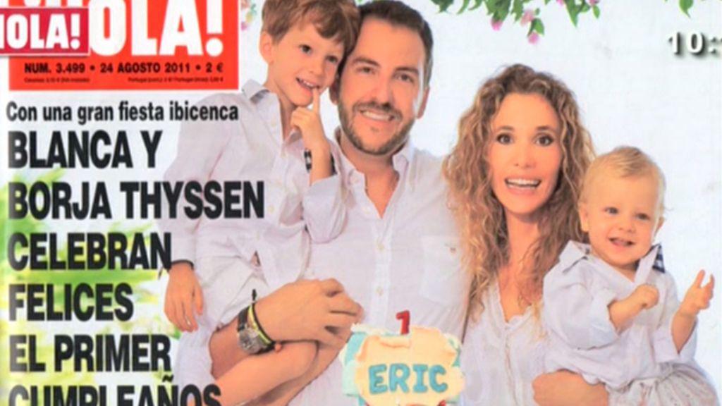 Borja y Blanca, felices
