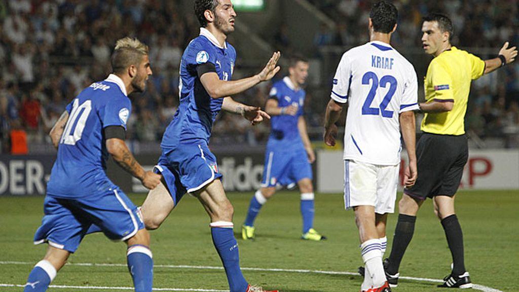 Italia golea a Israel y ya está en semifinales