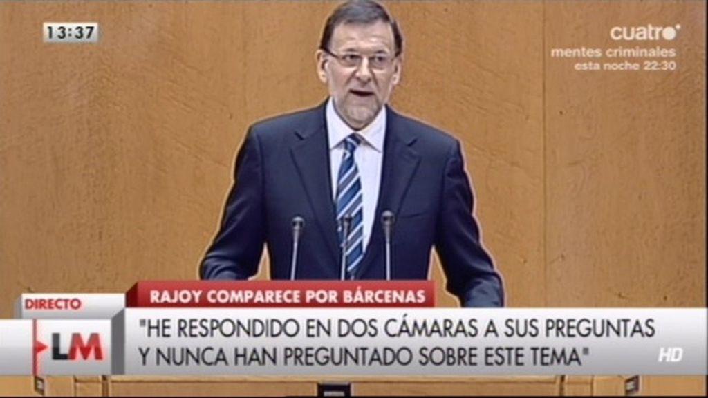 """Mariano Rajoy: """"No voy a dimitir"""""""